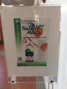 Youth Arts Month 2015